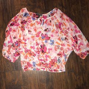 Floral express blouse!